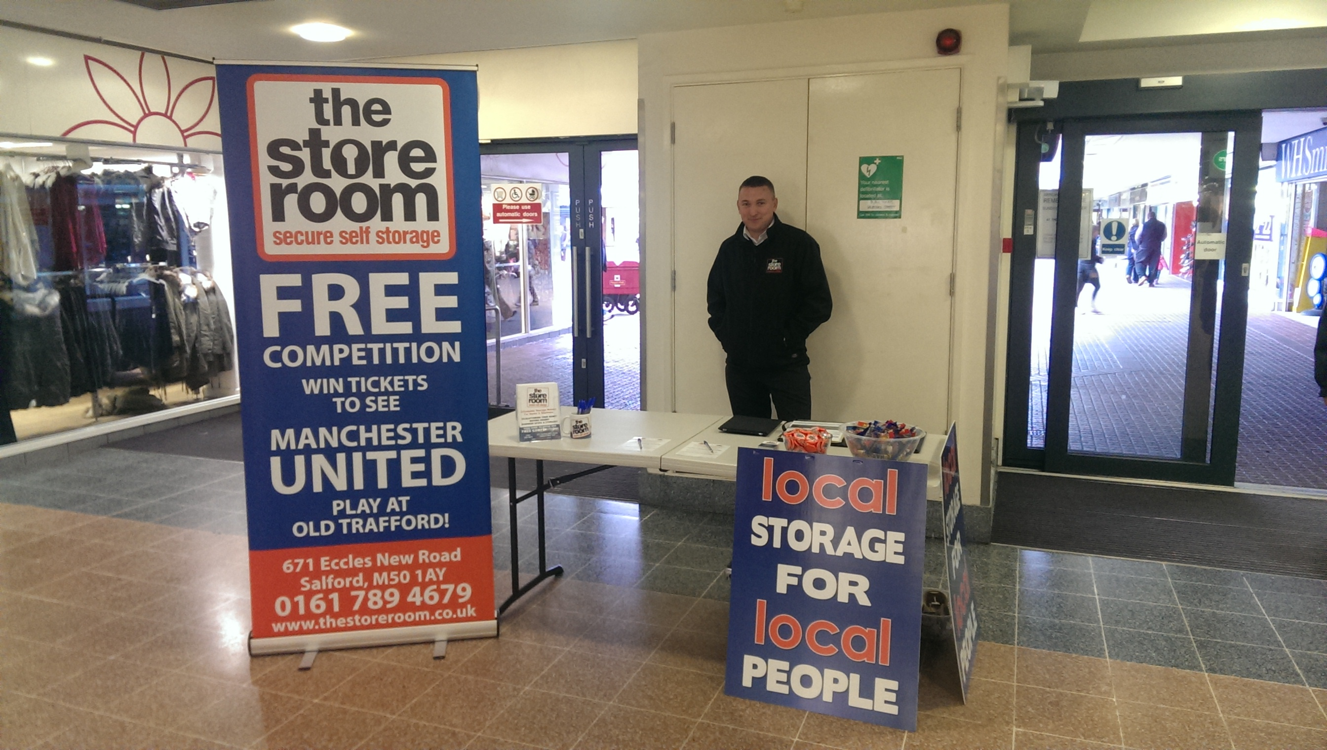 The Store Room Storage Team At Sale Shopping Centre