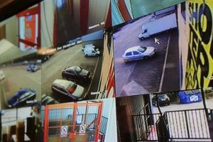 cctv in operation at the store room self storage company