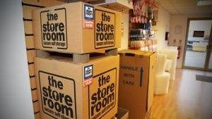 packaging available at The Store Room self storage company