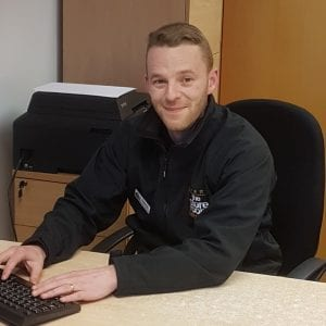 David Perry - assistant manager at The Store Room's Preston self storage facility