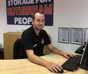 Self storage Rotherham staff - Joe Davies