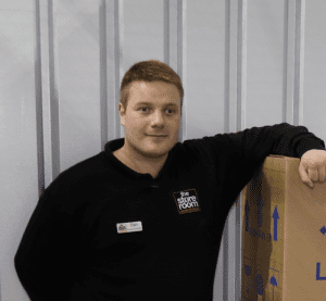 Self Storage Manchester staff - Dan Beer