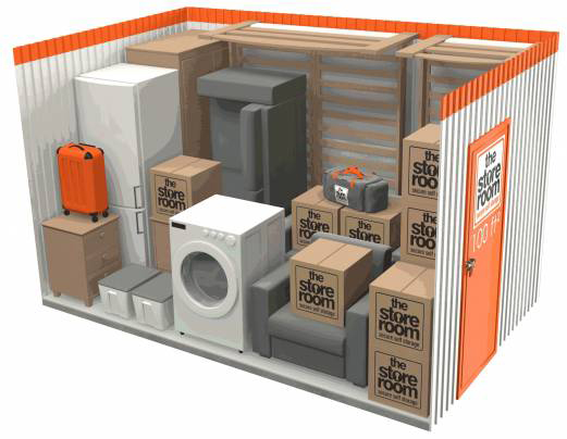 Get a storage quote today the store room for 100 sq ft room size