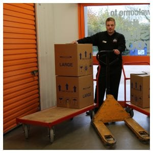 Trolleys and pallet trucks available at The Store Room for all workshop customers