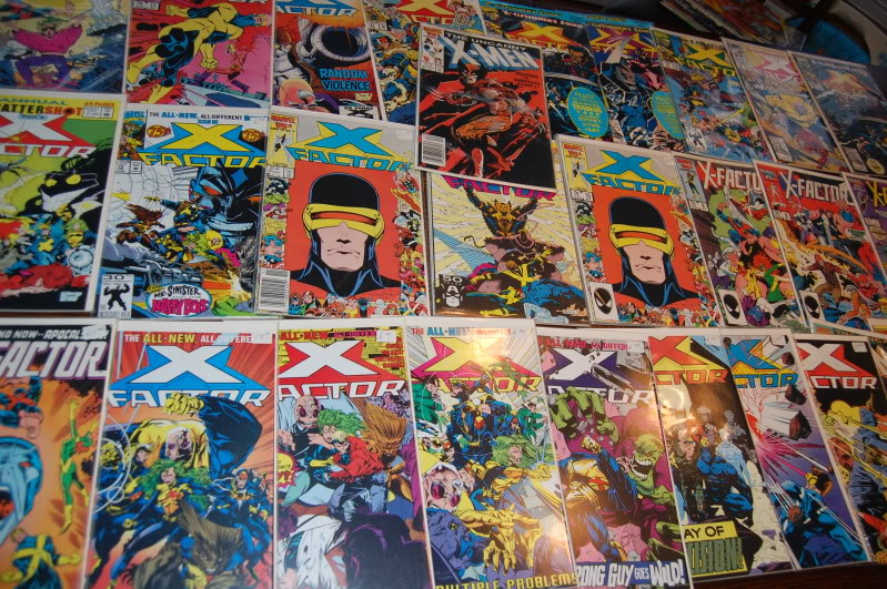 Comic Book collections in storage