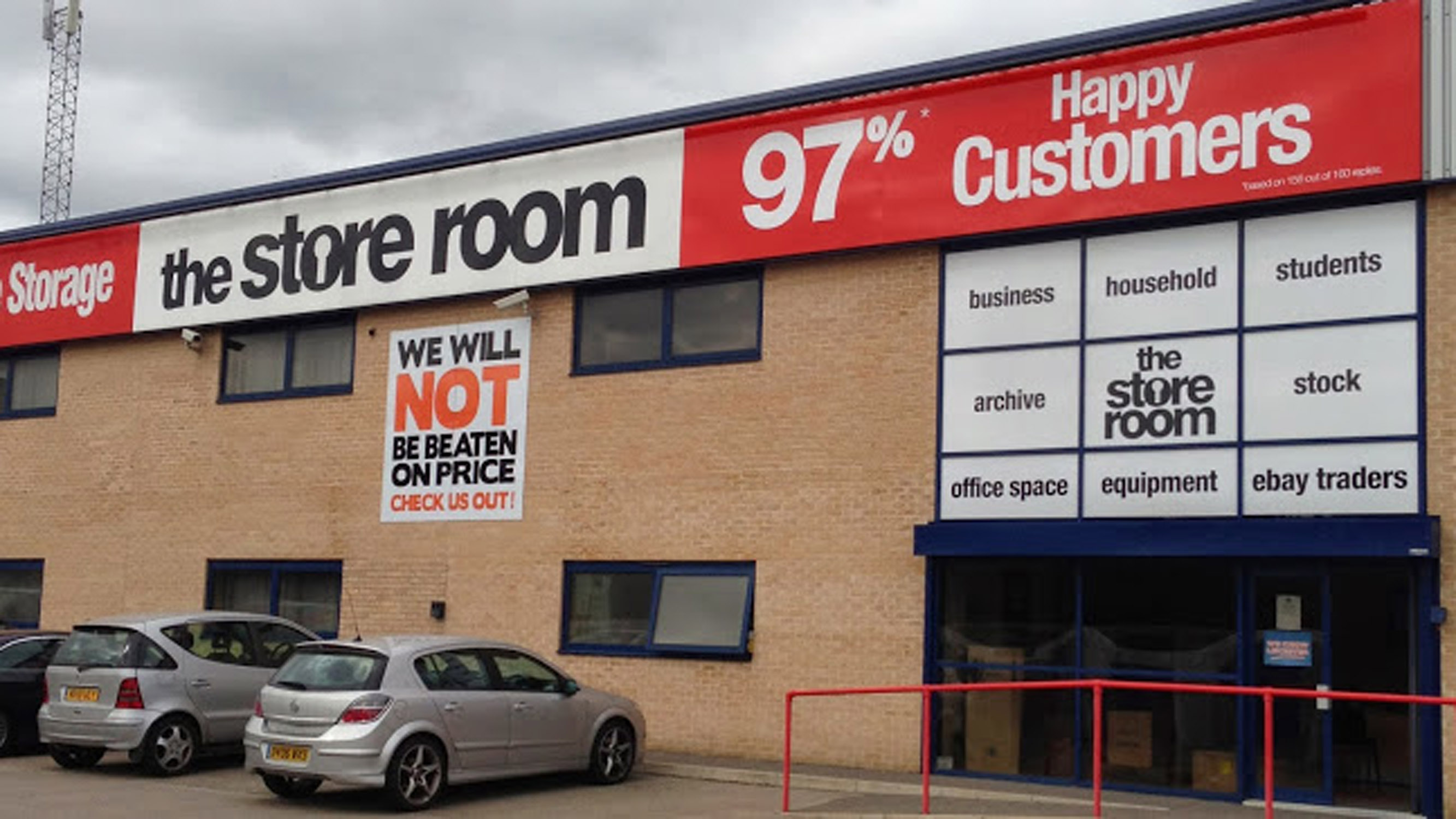 The Store Room Leicester Frontage