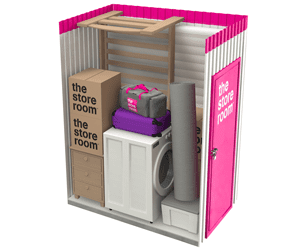 35 sq ft self storage room at The Store Room