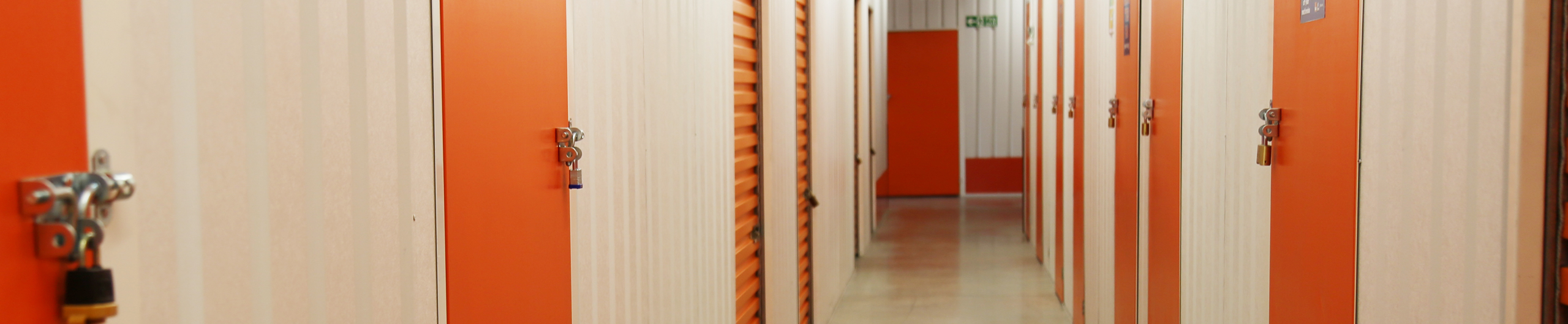 Self storage rooms at The Store Room