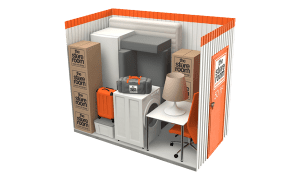 50 sq ft self storage room at the store room