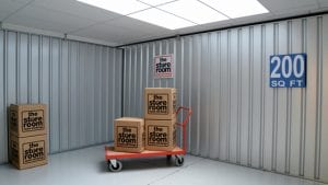 large self storage room at The Store Room