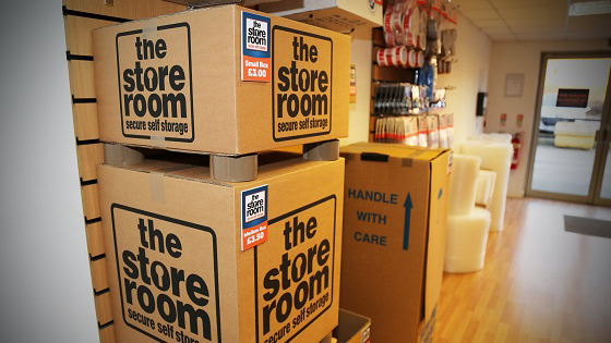 Packaging deals for student storage customers at The Store Room Manchester