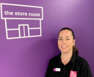 Tracey Finnegan Storage Specialist