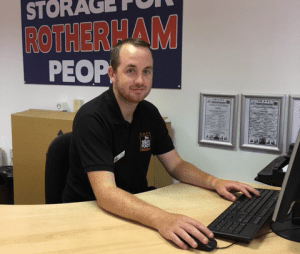 Self storage Rotherham staff - Joe Davies