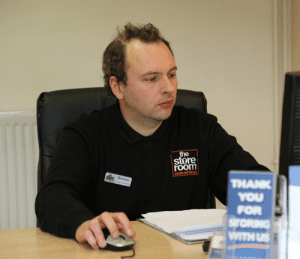 Self Storage Leicester staff - Simon Williams