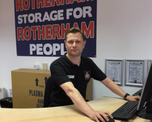 Self storage Rotherham staff - Stephen Gregg