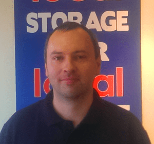 Self Storage Leicester Staff - Simon Williams