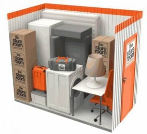 35 sq ft self storage room