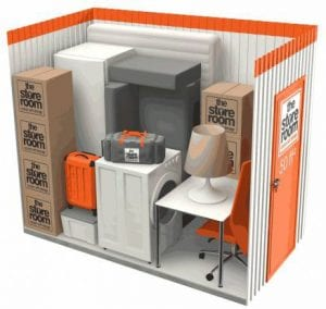 50 sq ft self storage room