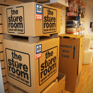 Image of storage boxes available to buy at The Store Room