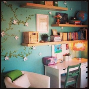 Check that you can decorate your room or put the decorations into self storage, until the next property