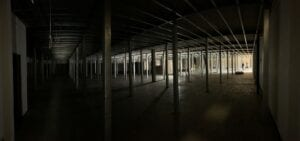 Self storage units under construction