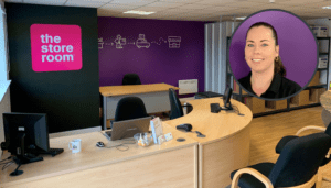 meet tracey from the salford self storage team image