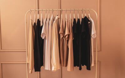 Image: clothes on rack